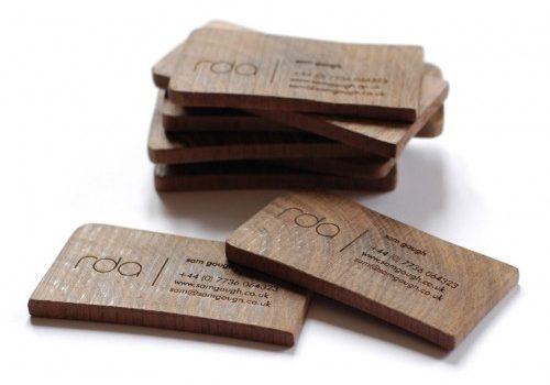 cartes commerciales bois 8
