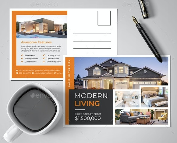 Template carte commerciale immobilier 1