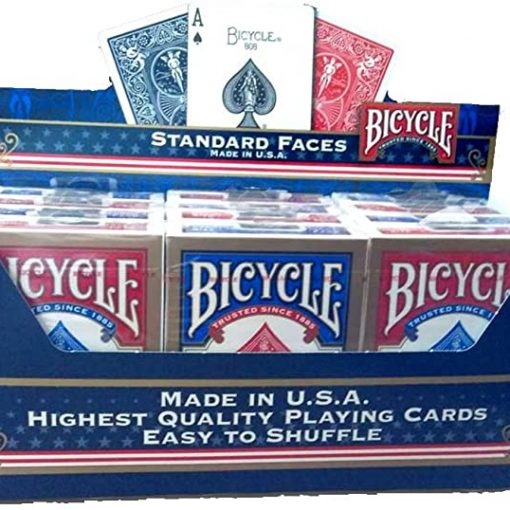 Lot de 12 jeux de cartesBicycle 4