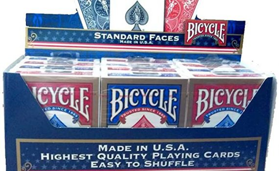 Lot de 12 jeux de cartes Bicycle  1