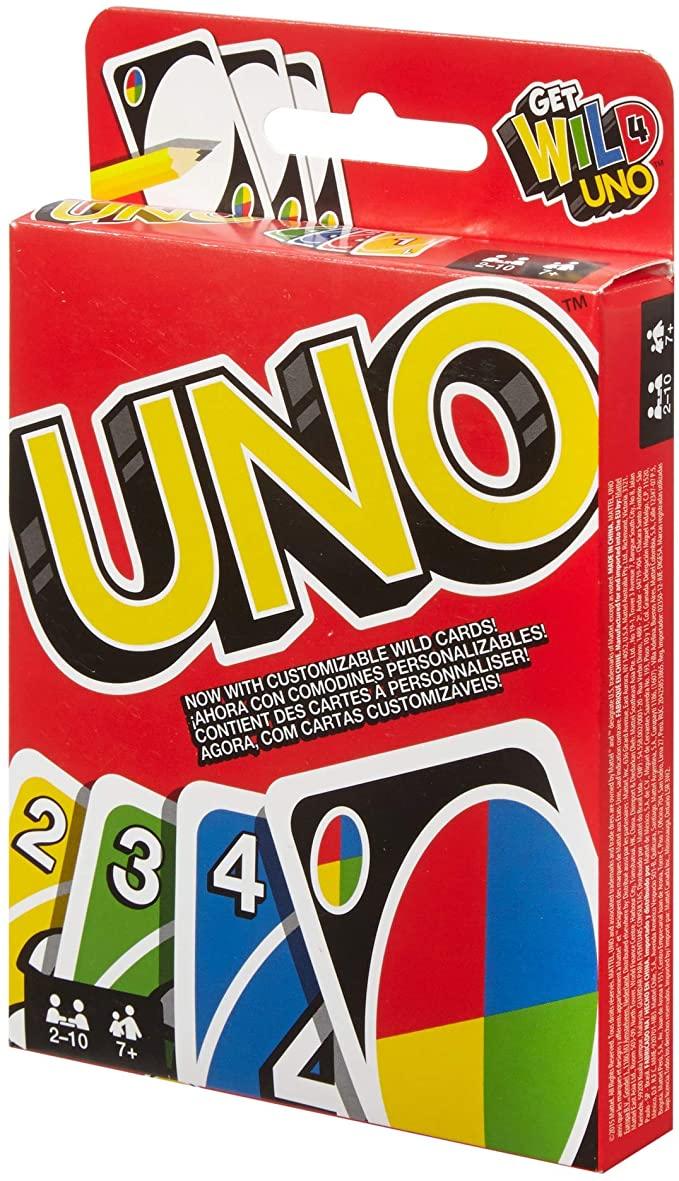 Les cartes UNO 1