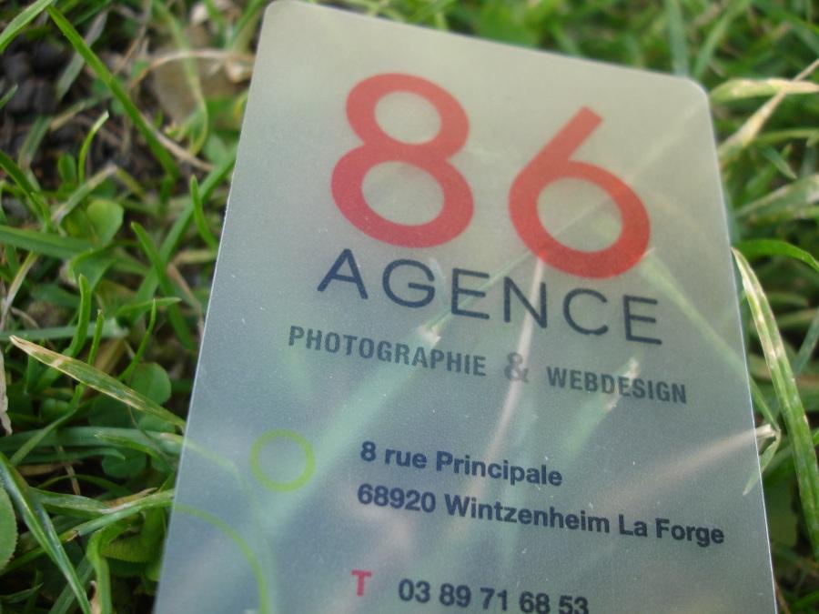 carte de visite transparente agence webdesign 1