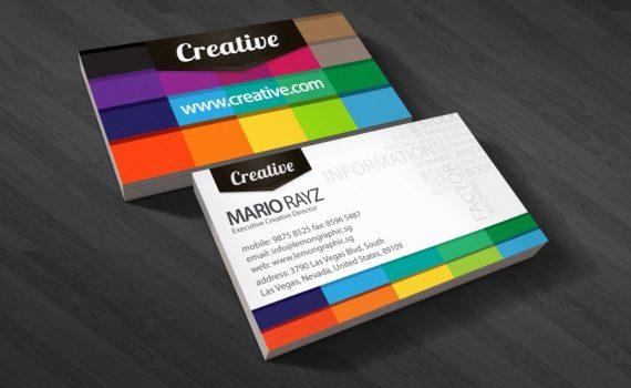 carte de visite designer graphique 5