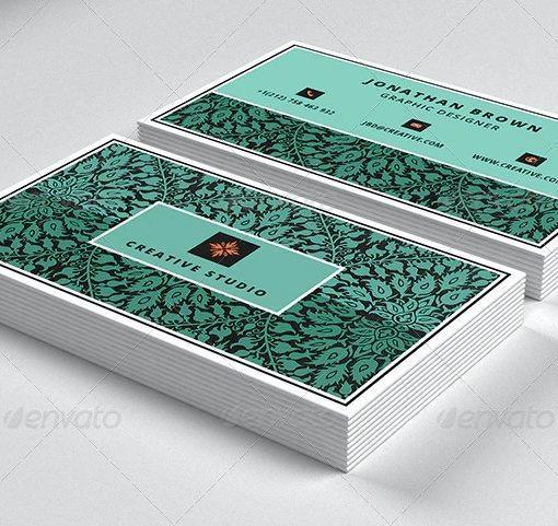 Carte commerciale de designer 8