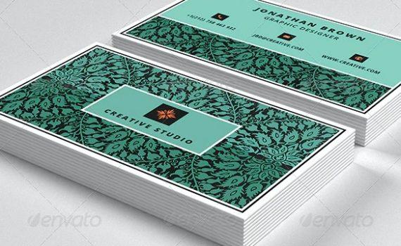 Carte commerciale de designer 4