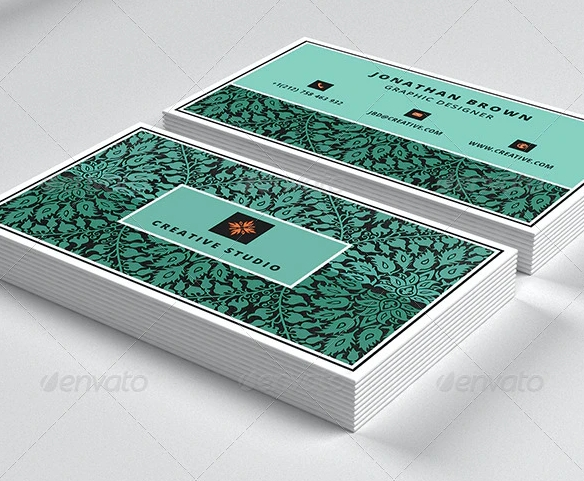 Carte commerciale de designer 1
